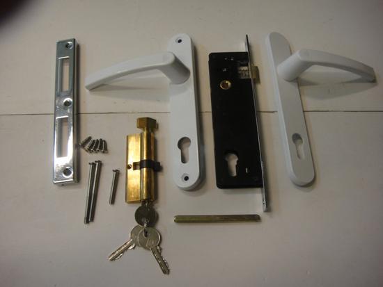 Bộ khóa đơn điểm cho cửa nhựa lõi thép uPVC