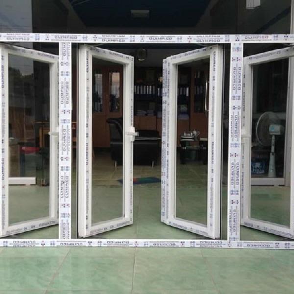 Mẫu cửa nhôm Xingfa 4 cánh cao cấp chính hãng