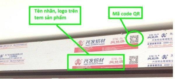 Cách lựa chọn thanh nhôm Xingfa chính hãng