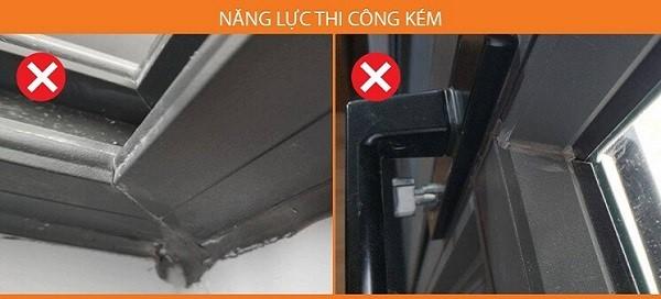Báo giá thi công cửa nhôm xingfa cao cấp tại Hà Nội