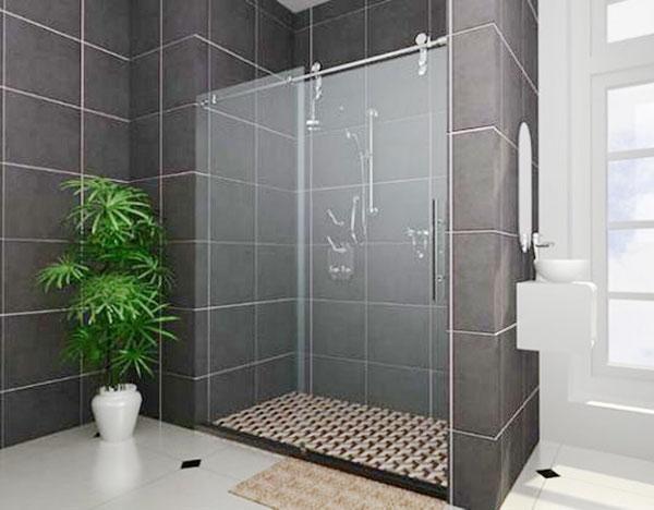 Làm vách tắm kính cường lực đẹp và sang trọng nhất