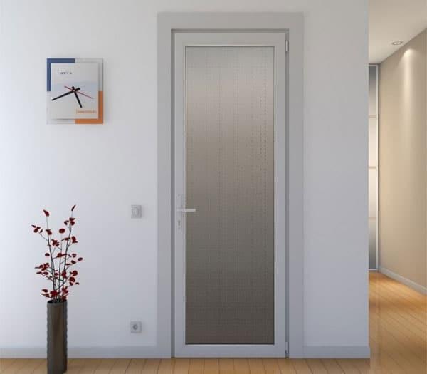 Mẫu cửa nhà vệ sinh 1 cánh mở quay